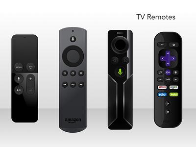 TV Remotes sketch freebie remote tv