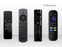 TV Remotes sketch freebie remote tv