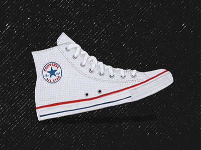 Chucks texture illustration chuck taylor converse shoes
