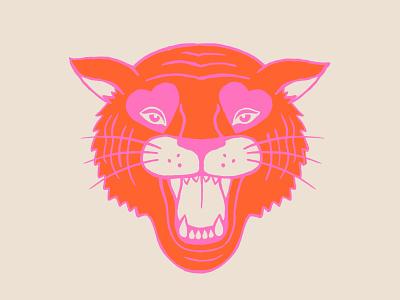 Neon Tiger neon illustration tiger