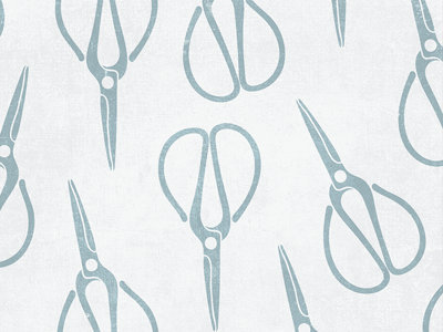 Vintage Inspired Pattern vintage vector scissors graphic design