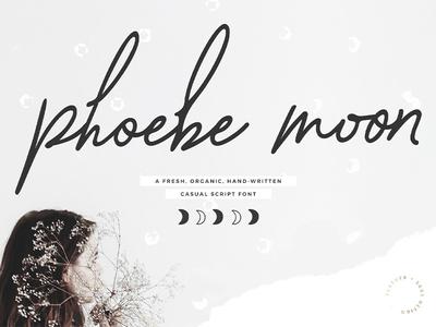 Phoebe Moon Script Font