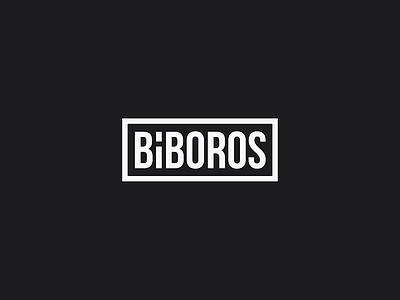 Bíboros disco inn bar grey logo biboros