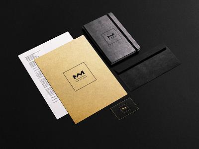 New Art Media visual identity logo nam minimal black gold eger new art media media art new branding