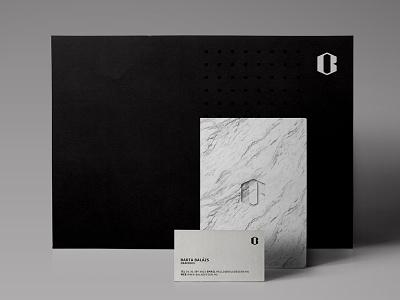 Personal Identity bala black and white white marble black b logo personal