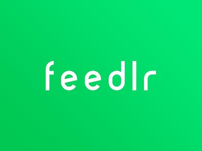 Feedlr app webapp green media social feedlr logo feed