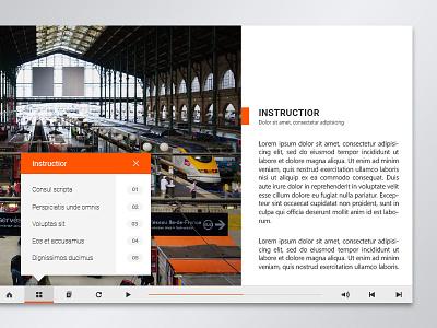 UI / 01 ui ux design icon web button graphic minimal orange simple concept photoshop