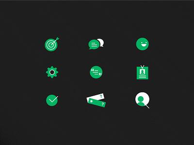 Icon Set concept branding app web design web drawing graphic design 2d illustration vector icon
