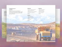We work in mining