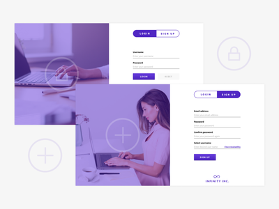 Login and Signup Page Concept signup page sign up login page webdesign ux design figma ui website design