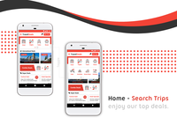 Travel Deals - Mobile App Interface