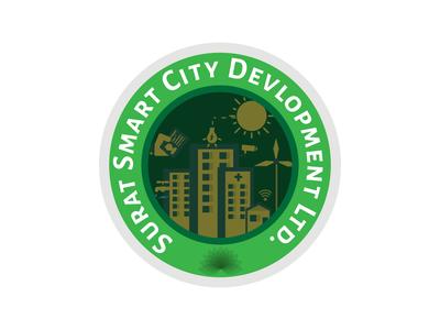 Surat Smart City Logo Concept