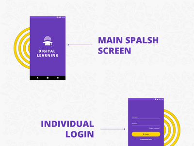 Digital Learning - Mobile App Design