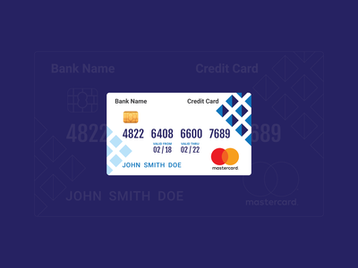 Credit Card  - Concept Design