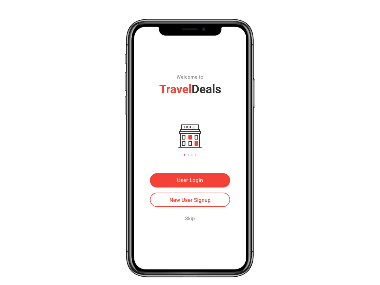 TravelDeals App ( Demo URL in Description) ui mobile app design illustraion design rapid prototyping travel app prototype figma