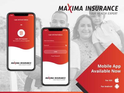 Insurance - App Design