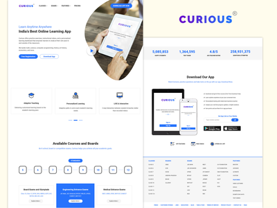 CURIOUS - Learning App - Rebound