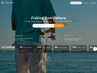 Fish Point | Landing Page Design Concept