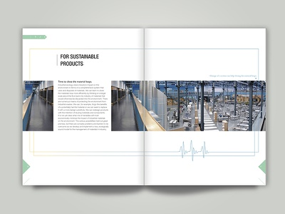 Product Alive_Why Industrial Ecology Matters? report graphicdesign design paper typography grid