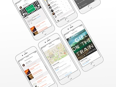 iOS Library Management App (Concept) ux ui app concept ios library
