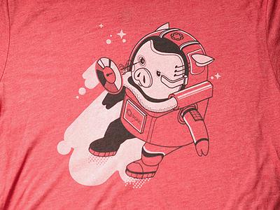 Sigfig Tshirt swag space sigfig shirt robo pig investing bot
