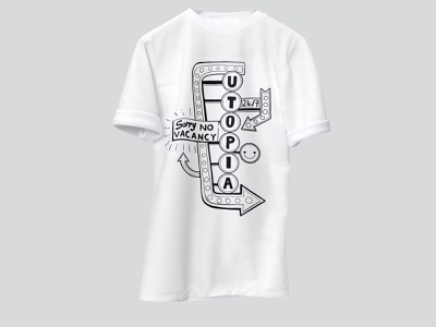 Utopian Minds t-shirt design t-shirt illustration t-shirt design desinger design typography logo brand identity illustrations illustration art illustration illustrator