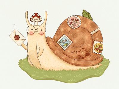 Snail Mail childrens book illustration desinger book illustration illustrations design illustration art illustration illustrator