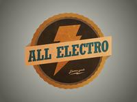 ".logo for ""All Electro"""