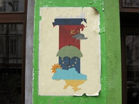 .antiwar poster, dedicated to Ukrainian crisis.