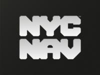 """""""NYC NAV"""" logo concept."""