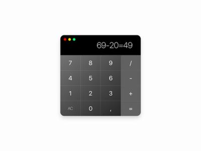 Calculator to OSX osx calculator calc