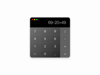 Calculator to OSX
