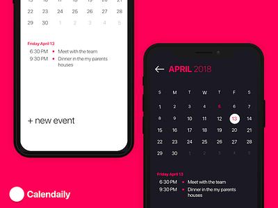Calendaily Calendar calendaily calendar