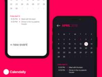 Calendaily Calendar