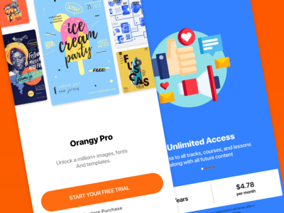 Purchase in the apps upgrade premium purchases purchase ui app apps design adobe xd