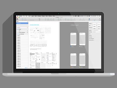 Sketch iOS UI Template