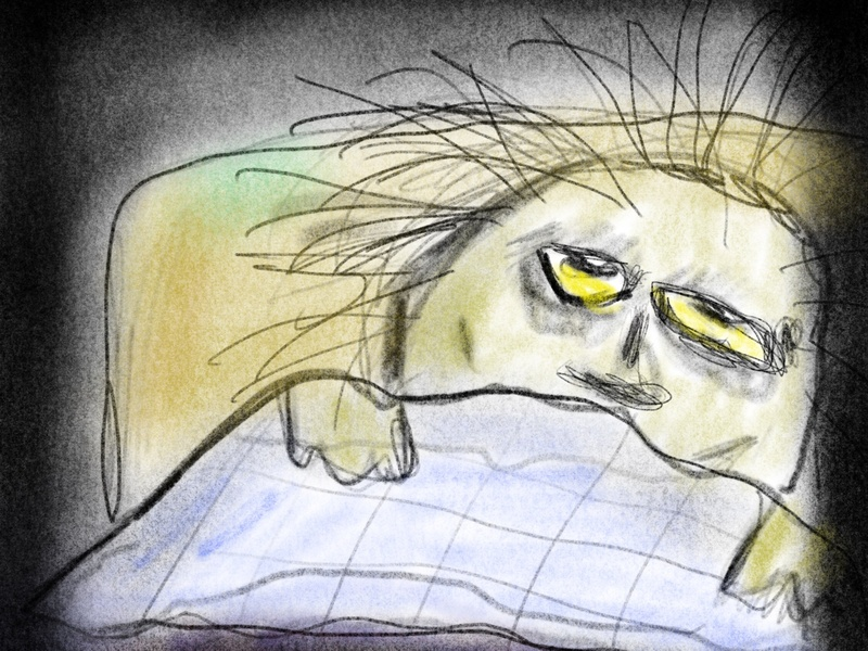 Morning illustrations charcoal illustrative procreate illustration