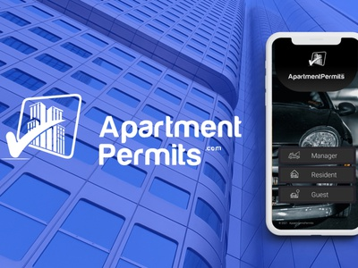 Application Development for Apartment Permits branding mobile app mobial application design ui