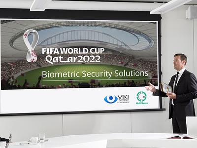 FIFA WORLDCUP 2022 (Qatar) presentation design development icon vector illustration design presentation