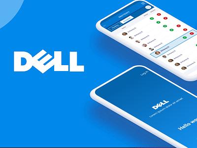 Application development for DELL SYSTEM figma web mobile application design ui ux app dell
