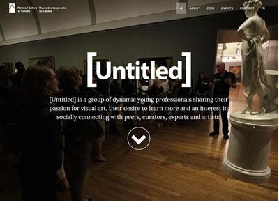 Untitled Microsite website-design