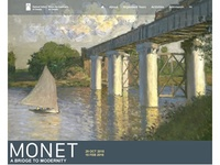 Monet Exhibition Microsite