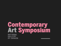 Contemporary Art Symposium