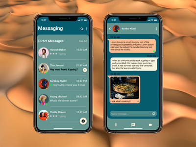 Daily UI 013 - Redesigned Chat for Telegram app minimal branding illustration vector illustrator wireframe prototype appdesign webdesign mobileappdesign figmadesign uxdesign uidesign dailyuichallenge