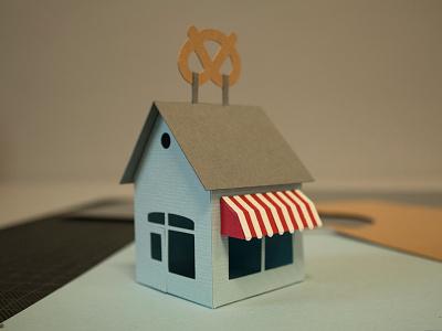 Tiny Bakery handmade paper printout diy papercraft paperart