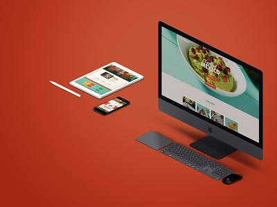 Taste Of Mexico Branding   Webdesign website ux web ui design branding