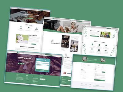 Animal Sales Books Funnel website web ux ui design branding