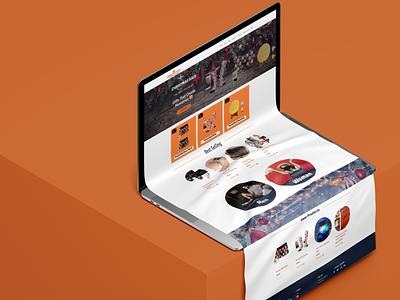 Personalized Gift Webshop Design website web ux ui design branding