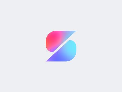 Personal Logo Mark Exploration vector s logo logo mark branding gradient color logo minimal modern clean