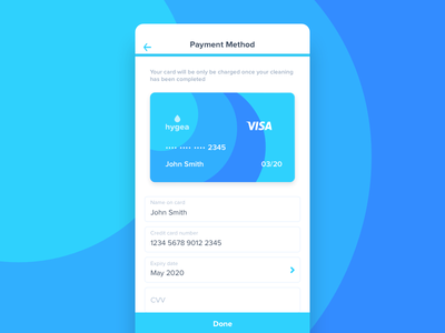 Hygea credit card